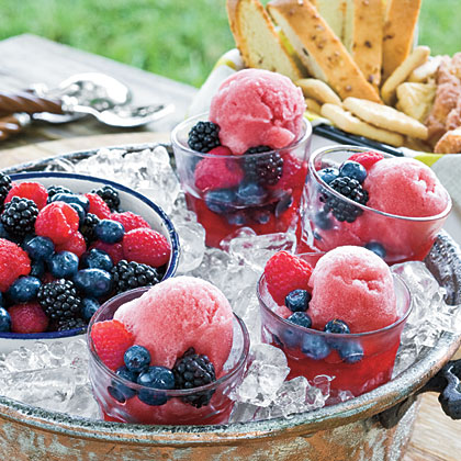 ... Wine » Recipes & Wine Pairing community » Blackberry Wine Sorbet