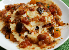 ... Recipes & Wine Pairing community » Mozzarella and Pecorino Ravioli