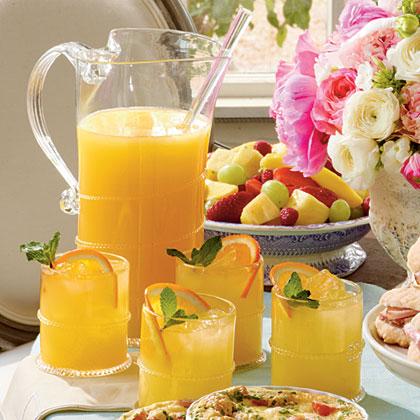 ... Recipes & Wine Pairing community » Sparkling Ginger-Orange Cocktails