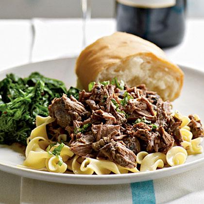 ... » Recipes & Wine Pairing community » Zinfandel-Braised Leg of Lamb